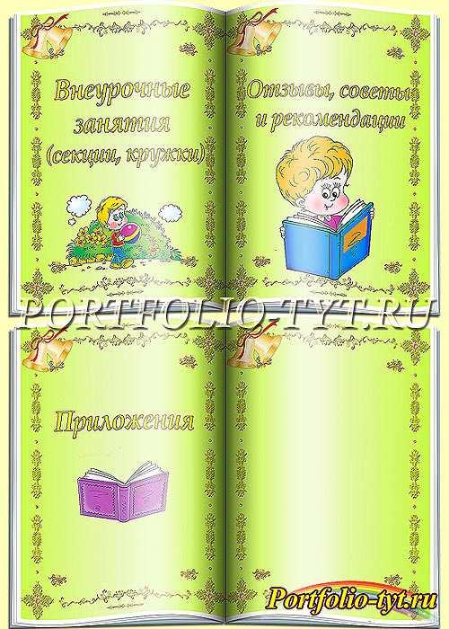 Портфолио ученика начальной школы – Школьные колокольчики