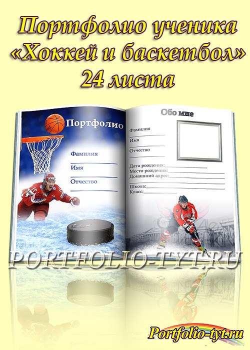Портфолио школьника – Хоккей и баскетбол